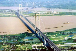 Runyang-Bridge between Jiaxing and Ningbo